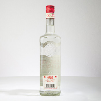 SAINT JAMES - Rhum blanc - 50° - 70cl - Rhum agricole