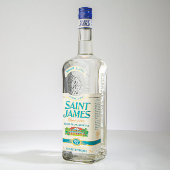 SAINT JAMES - Rhum blanc - 55° - 100cl