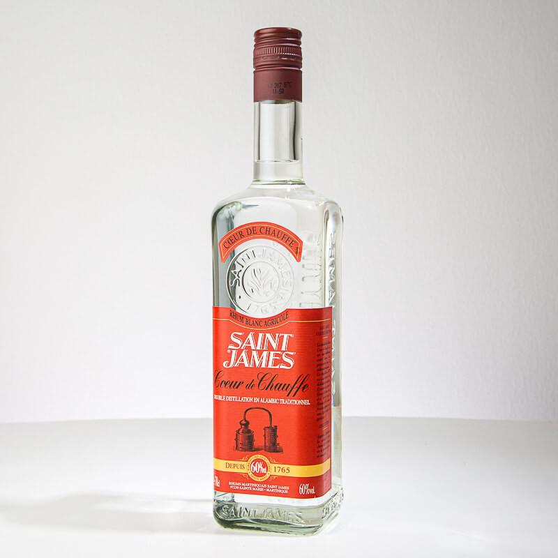 SAINT JAMES - Coeur de Chauffe - Rhum blanc - 60° - 70cl