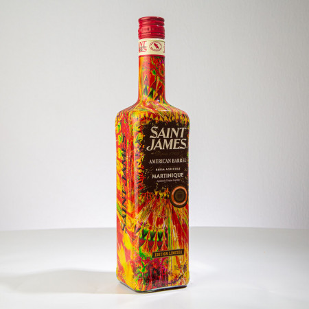 SAINT JAMES - American Barrel - Rhum ambré - 45° - 70cl