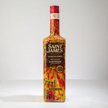 Rhum SAINT JAMES - American Barrel - Rhum ambré - 45° - 70cl - rhum agricole