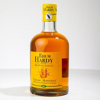 Rum HARDY - Rum Paille - Gold Rum - Rhum Agricole Martinique