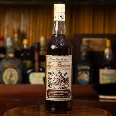 TROIS RIVIERES - Millésime 1996 - Vintage Rum - 42° - 70cl