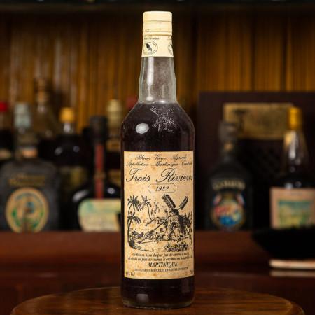 TROIS RIVIERES - Jahrgang 1982 - Vintage Rum - 45° - 70cl