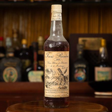 TROIS RIVIERES - Millésime 1969 - Vintage Rum - 45° - 70cl