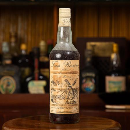 TROIS RIVIERES - Millésime 1953 - Vintage Rum - 45° - 70cl