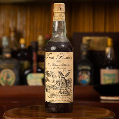 TROIS RIVIERES - Millésime 1964 - Vintage Rum - 45° - 70cl