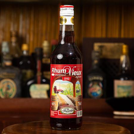 LA FAVORITE - Alter Rum - Jahrgang 1990 - Vintage Rum - 40° - 70cl