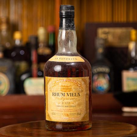 LA FAVORITE - Alter Rum - 8 Jahre alt - Vintage Rum - 45° - 70cl