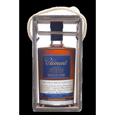 CLEMENT -  Single Cask - Moka Intense - Extra Alter Rum - 41,7° - 50cl