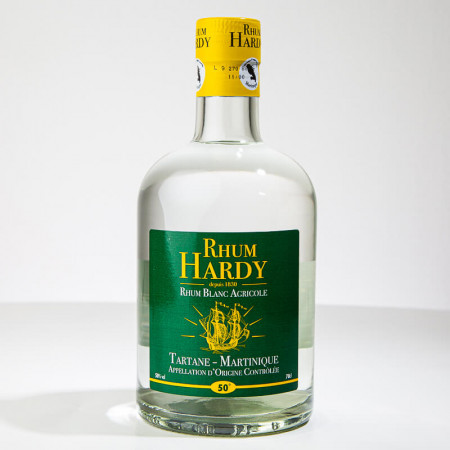 HARDY - Rhum blanc - 50° - 70cl