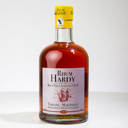 HARDY - VSOP - Sehr alter Rum - 42° - 70cl