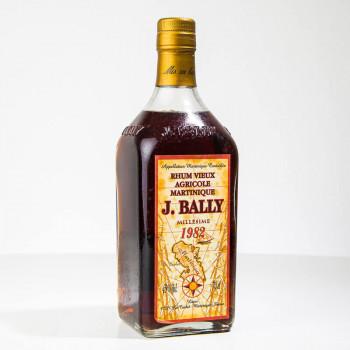 BALLY - Rhum vieux - Millésime 1982 - 43° - 70cl - martinique