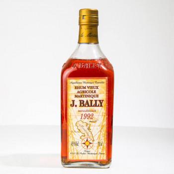 BALLY - Millésime 1992 - Rhum vieux - 45° - 70cl