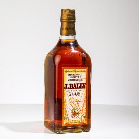 BALLY - Millésime 2005 - Rhum vieux - 43° - 70cl