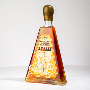Rhum BALLY - Pyramide 7 ans - Rhum vieux - 45° - 70cl