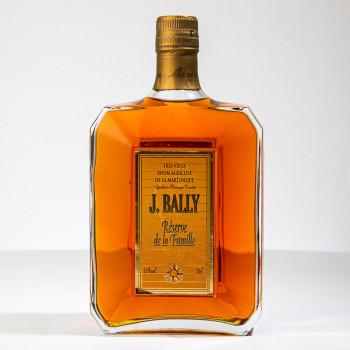 Rhum BALLY - Réserve familiale - Rhum très vieux - 45° - 70cl - martinique