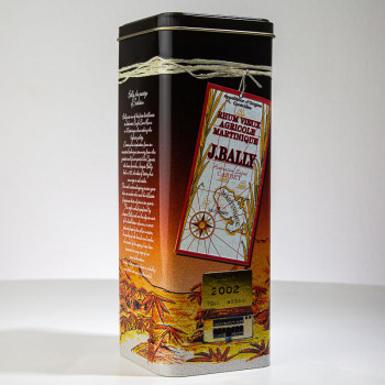 BALLY Rum - Jahrgang 2002 - 43° - 70cl - 3