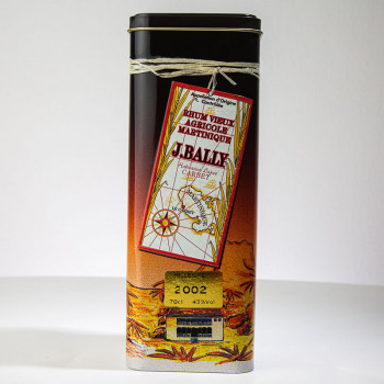 BALLY Rum - Jahrgang 2002 - 43° - 70cl - Extra Alter Ru