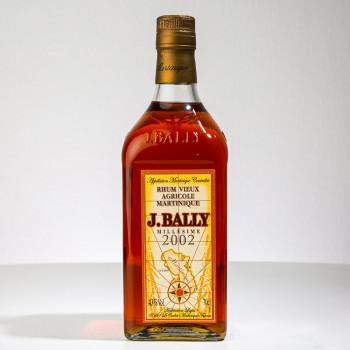 BALLY - Jahrgang 2002 - 43° - 70cl - Martinique