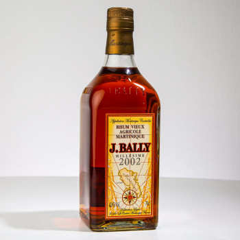 BALLY - Millésime 2002 - 43° - 70cl - rhum agricole
