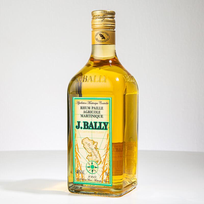 Rhum BALLY - Rhum paille - Rhum Ambré - 40° - 70cl