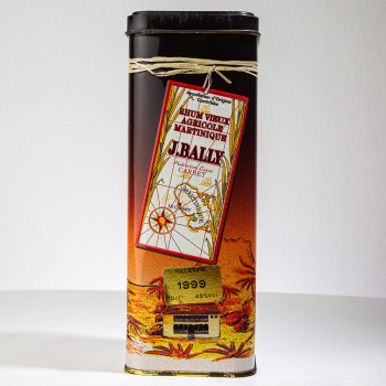Rhum BALLY - Millésime 1999 - Rhum vieux - 43° - 70cl - martinique - AOC - J.Bally