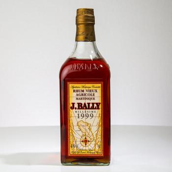 BALLY - Millésime 1999 - Rhum vieux - 43° - 70cl - martinique