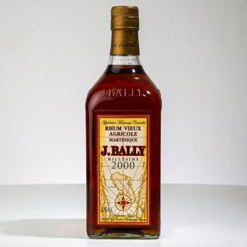 BALLY - Millésime 2000 - Rhum vieux - 43° - 70cl - martinique