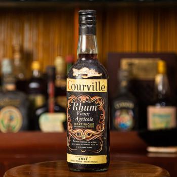 COURVILLE - 25 Jahre - Vintage - Alter Rum - 47° - 70cl