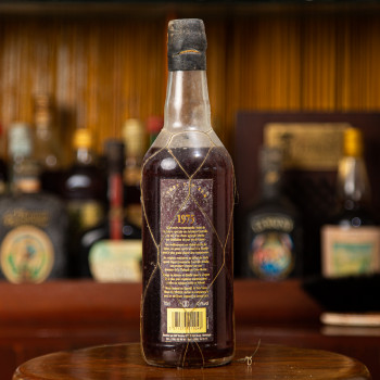 COURVILLE - Millésime 1975 - Rhum très vieux - martinique