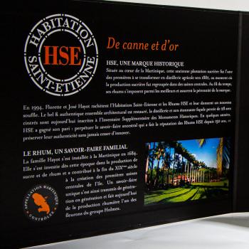 HSE - Coffret Dégustation HSE - Blanc 2016 - VSOP - XO - dégustation de rhum