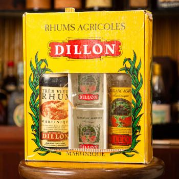 DILLON - Jahrgang 1970 - 1 sehr alt und 1 weiß - Vintage - Geschenkset