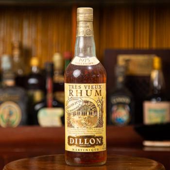 DILLON - Millésime 1975 - Rhum Vintage - 45° - 70cl