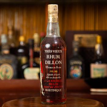 rhum DILLON - Régiment de Dillon 1779 - 45° - 70cl - martinique