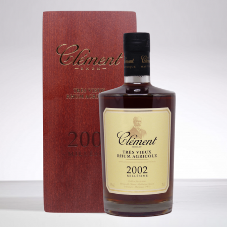 CLEMENT - 2002 Jahrgang - Extra Alter Rum - 42° - 70cl