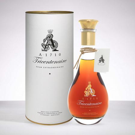 A1710 - Tricentenaire 2017 - Decanter - Extra alter rum - 41,7° - 70cl