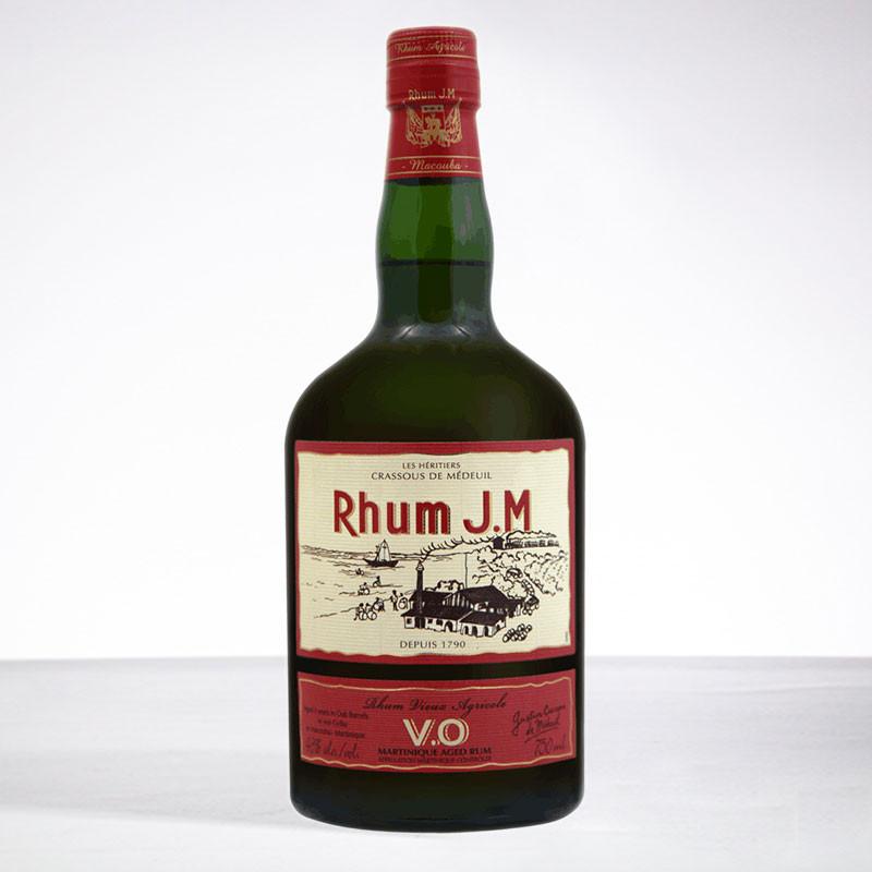 rhum JM - VO - Rhum vieux - 43° - 70cl