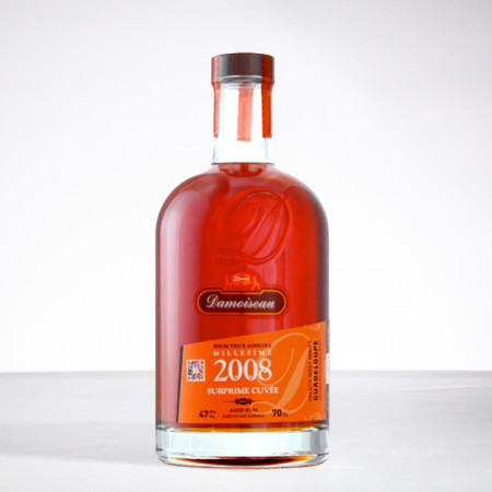 DAMOISEAU - Cuvée subprime 2008 - Extra Alter Rum - 47,9° - 70cl