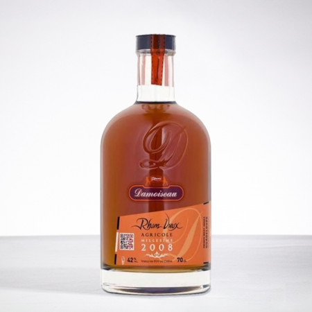 DAMOISEAU - Jahrgang 2008 - Extra Alter Rum - 42° - 70cl
