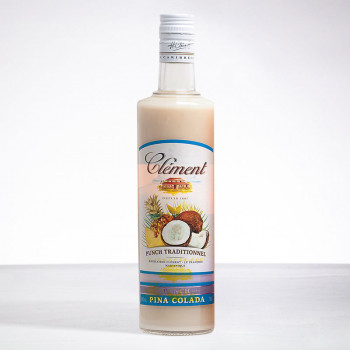 punch CLEMENT - Punch Pina Colada - Liqueur - 18° - 70cl
