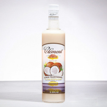 CLEMENT - Punch Coco - Liqueur - 18° - 70cl
