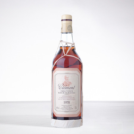 CLEMENT - Jahrgang 1970 - Extra Alter Rum - 44° - 70cl