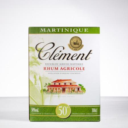 CLEMENT - Rhum blanc - CUBI - 50° - 300cl