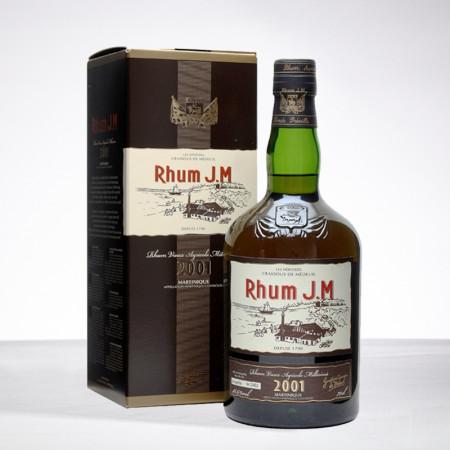 JM - Millésime 2001 - Rhum hors d'âge - 41,7° - 70cl