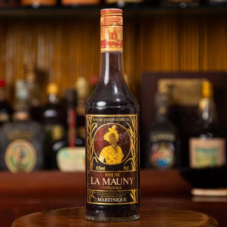 LA MAUNY - Rhum Vintage - 7 ans d'âge - Très vieille bouteille - 45° - 70cl