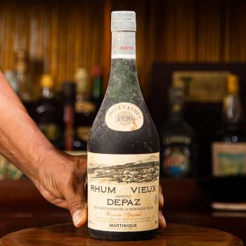 Rhum DEPAZ - Millésime 1950 - Rhum Vintage - 45° - 70cl