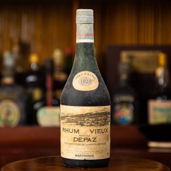 rhum DEPAZ - Millésime 1929 - Rhum Vintage - 45° - 70cl