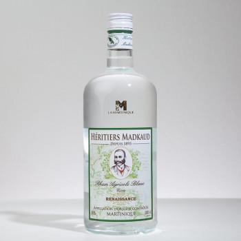 rhum MADKAUD - Renaissance - Rhum blanc - 50° - 100cl
