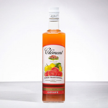 punch CLEMENT - Punch Goyave - Liqueur - 18° - 70cl